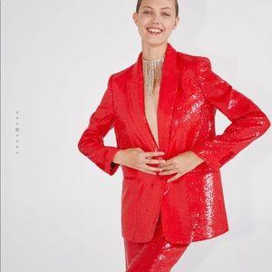 Zara Sequin long sleeve jacket